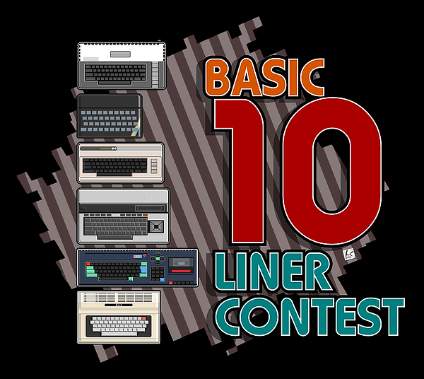 BASIC 10 Liner Contest 2019