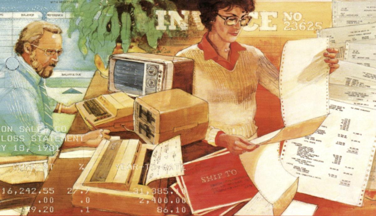 The Atari Accountant