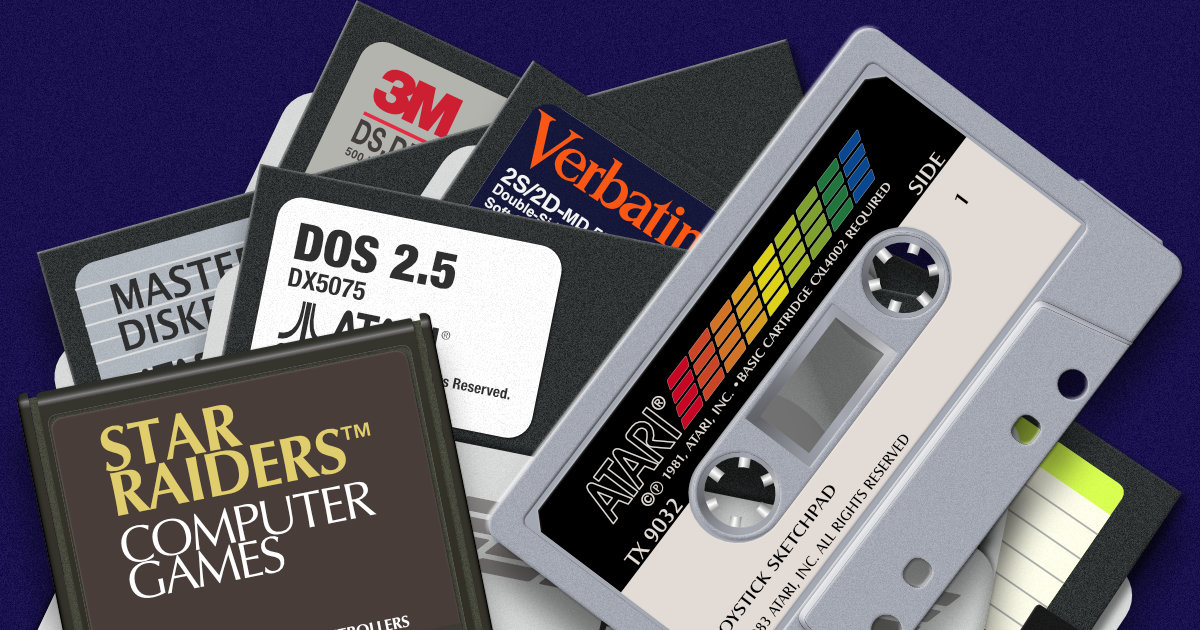 Atari 8-Bit Icons