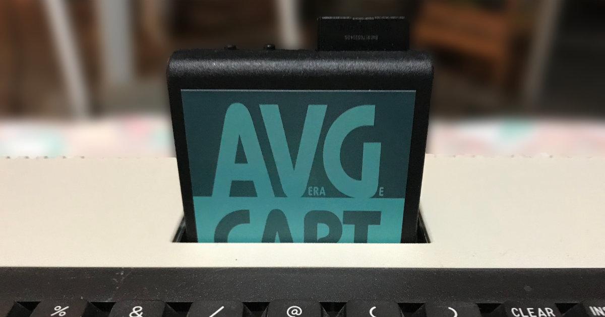 AVG Cart Label