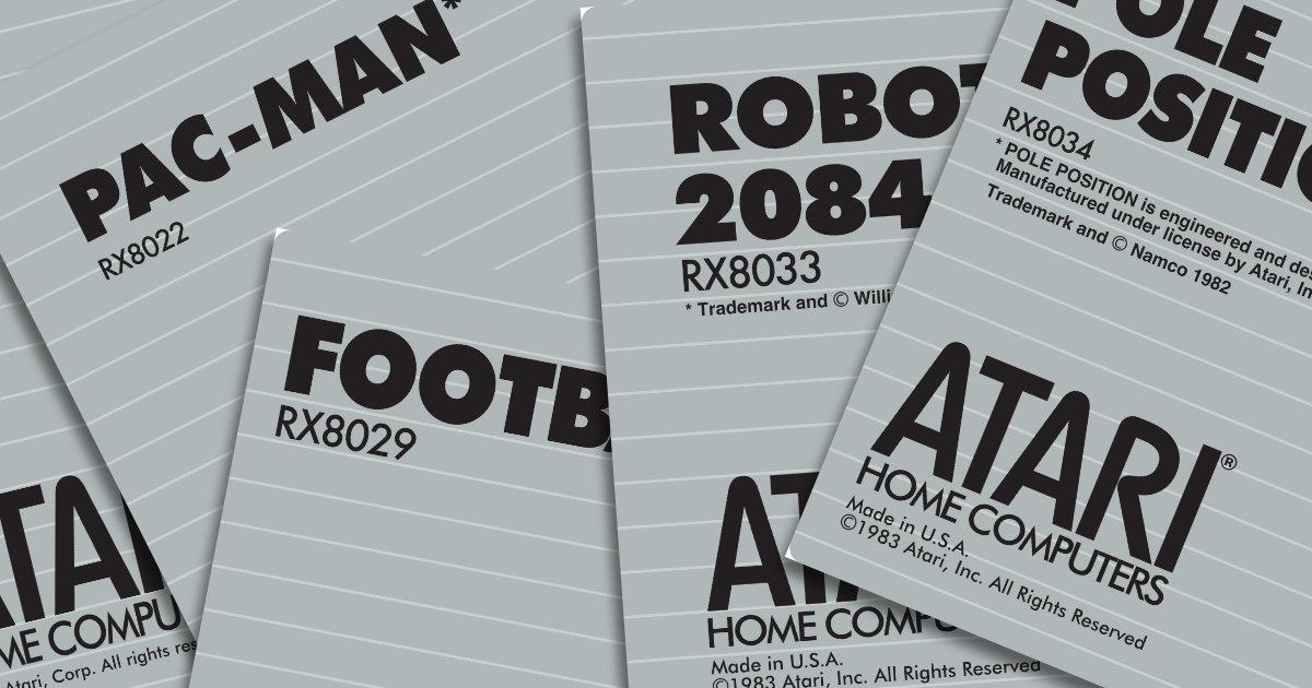 Atari 600/800XL & 65/130XE Carts