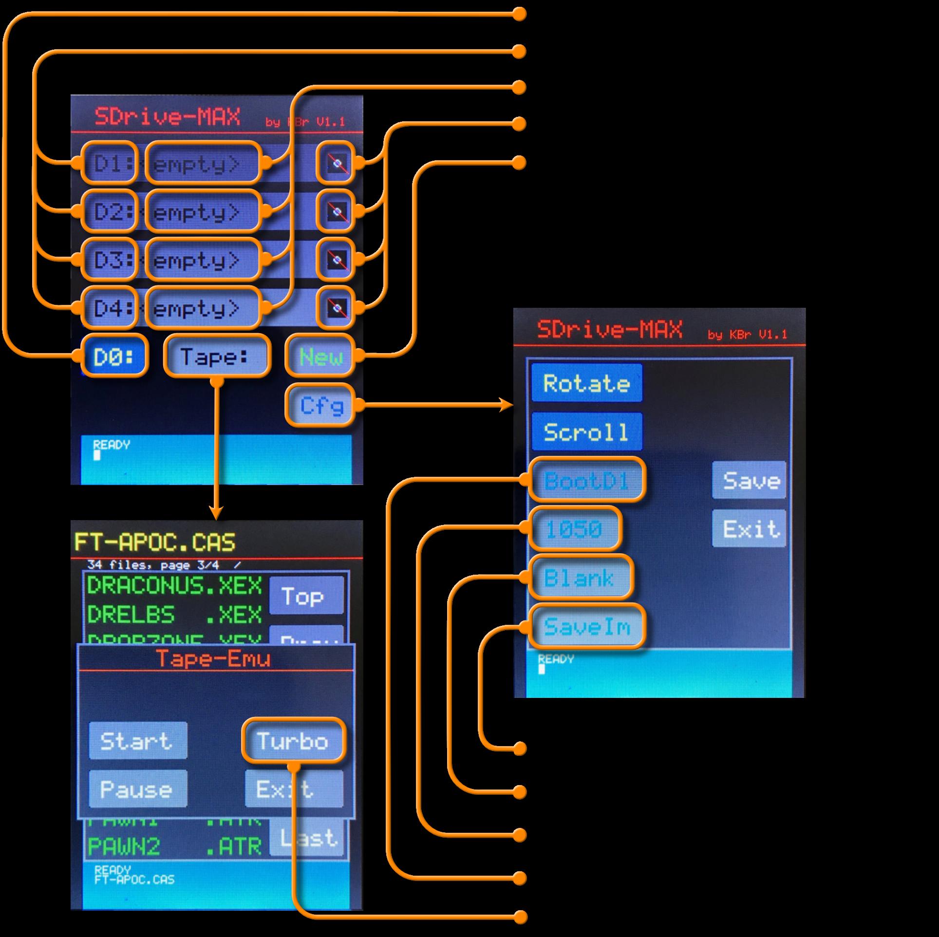 Everything SDrive-MAX – Atari 8Bit