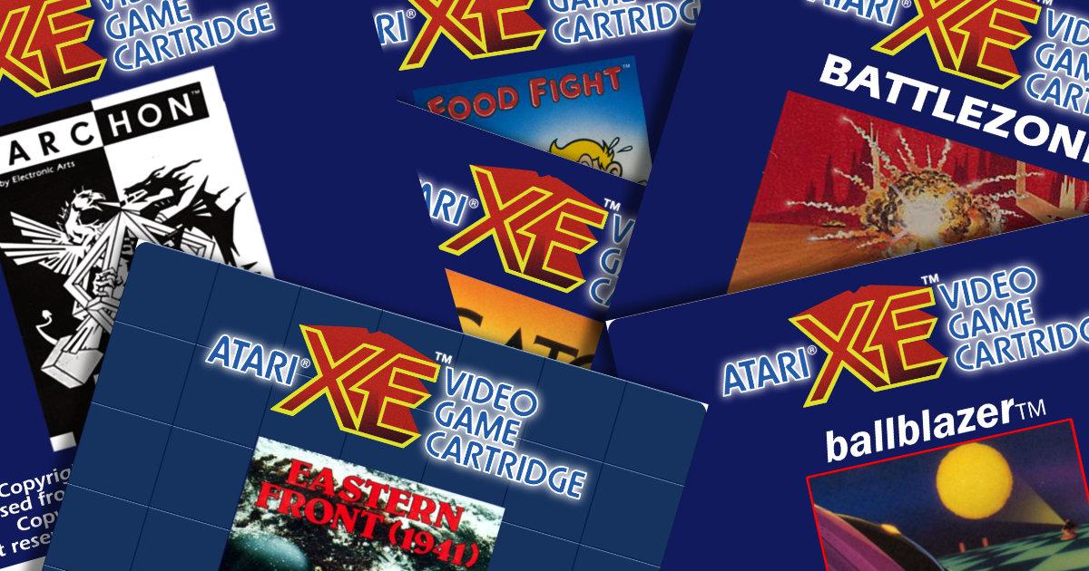 Atari XEGS Carts