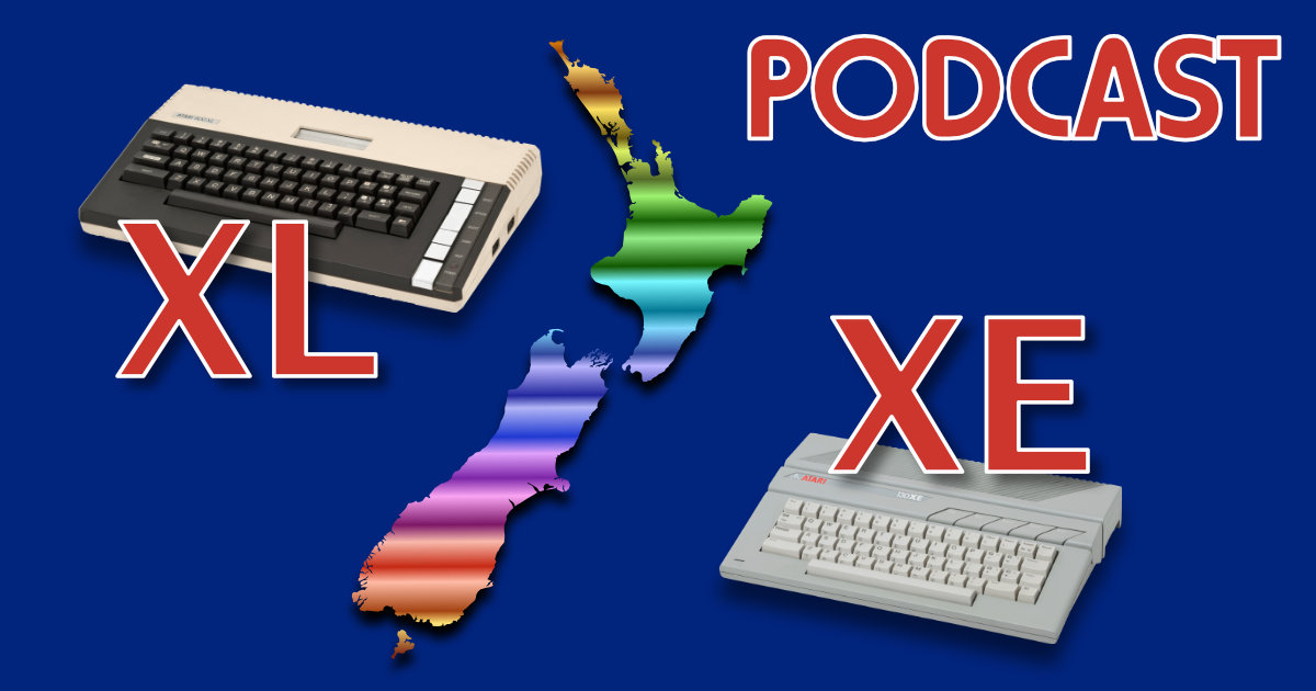XL/XE Podcast – Ghostbusters & Seven Cities of Gold